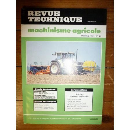 R674 à 874-90 Revue Technique Agricole Lamborghini
