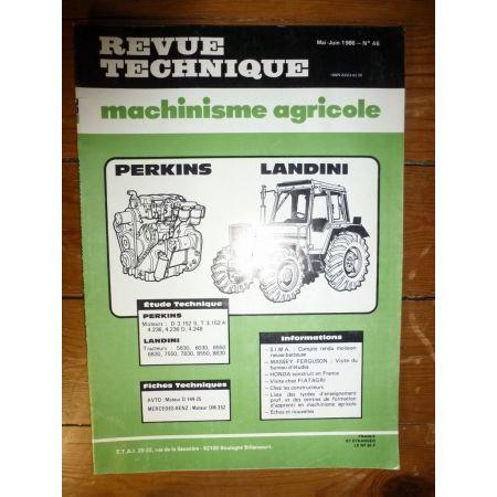 5830 à 8830 Revue Technique Agricole Landini