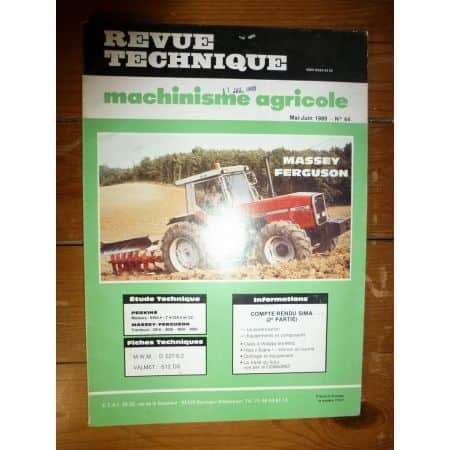 3610 3630 3650 3680 Revue Technique Agricole MF