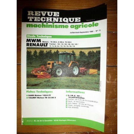 103 à 145 Revue Technique Agricole Renault