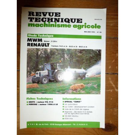 75 85 90 .32 .34 Revue Technique Agricole Mwm