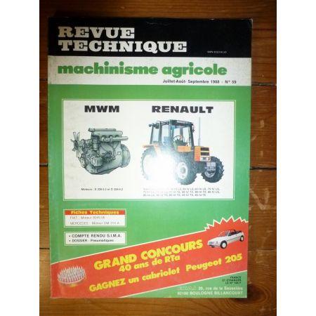 Gamme .12 et .14 Revue Technique Agricole Renault
