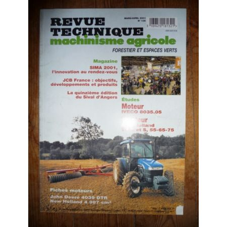 TN D ET S 55 65 75 Revue Technique Agricole New Holland