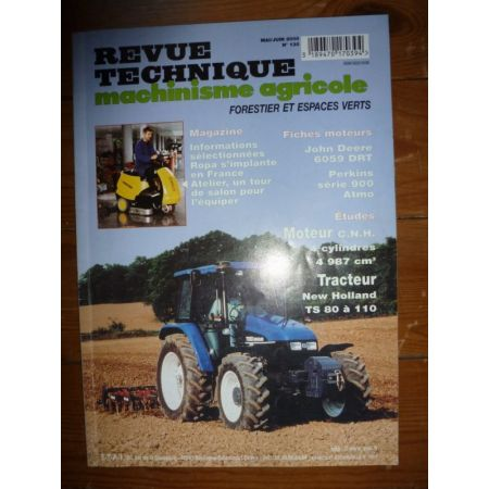 TS80 a 110 Revue Technique Agricole New Holland