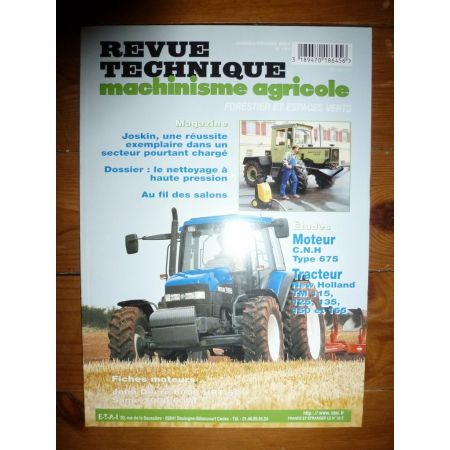 TM115 à 165 Revue Technique Agricole New Holland