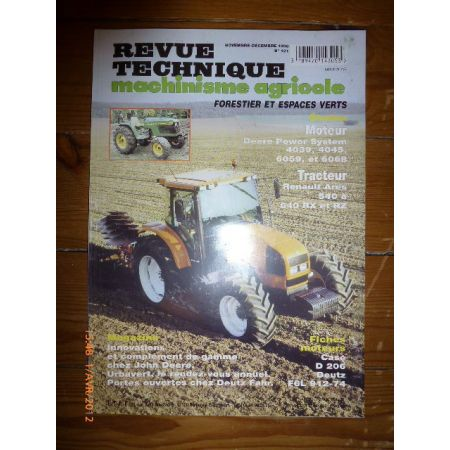 ARES 540 640 Revue Technique Agricole Renault