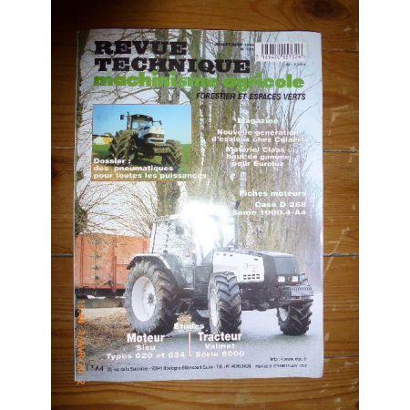 Série 8000 Revue Technique Agricole Valmet