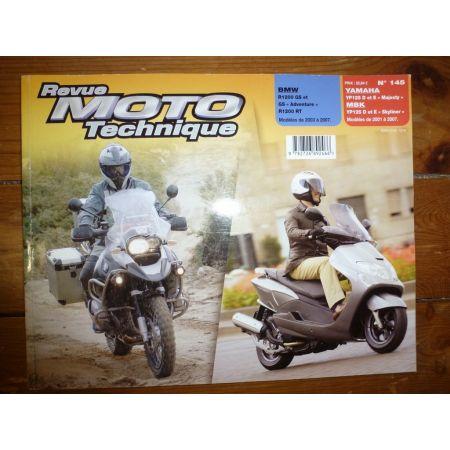 YP125 R1200 Revue Technique moto Bmw et Mbk Yamaha