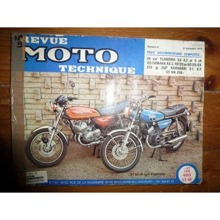 49cc RD125 S1 S2 Revue Technique moto Flandria Kawasaki Yamaha