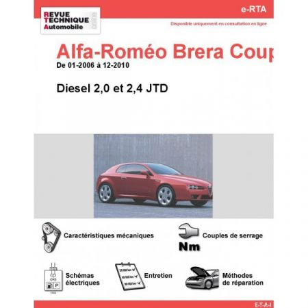 Brera D Revue e-RTA Numerique Alfa Romeo