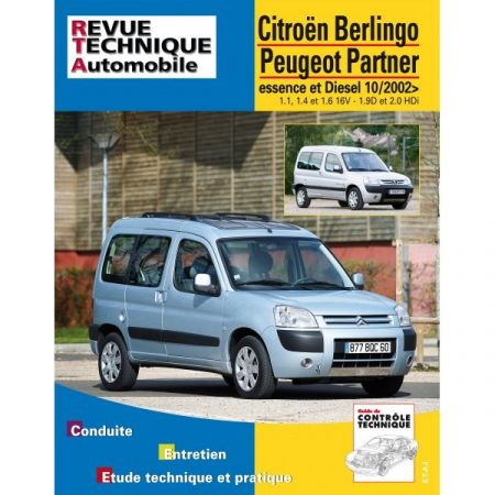 Berlingo Partner 02- Revue Technique Citroen