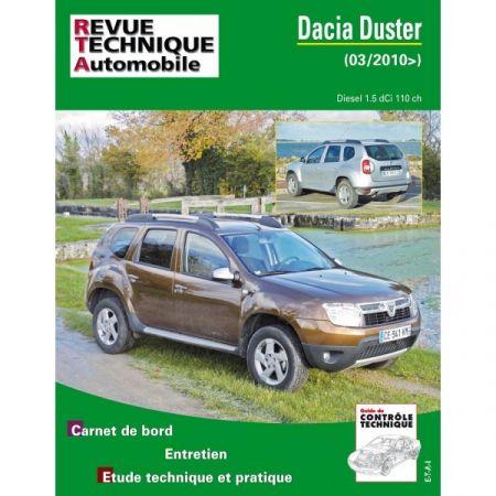 Duster 10- Revue Technique Dacia