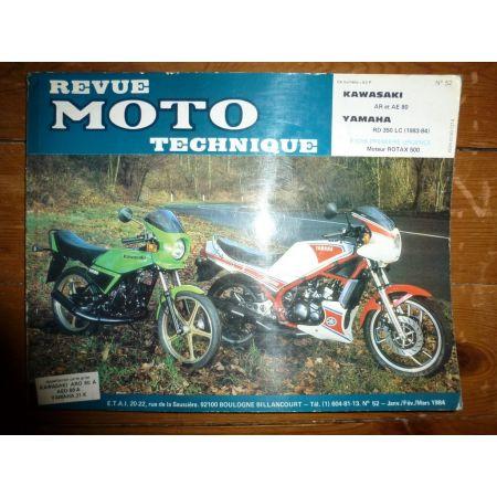 AR80 AR80 RD350LC Revue Technique moto Kawasaki Yamaha