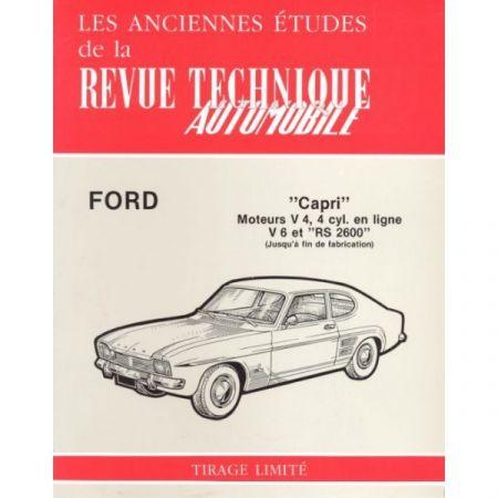 Capri V4 V6 RS Revue Technique Ford