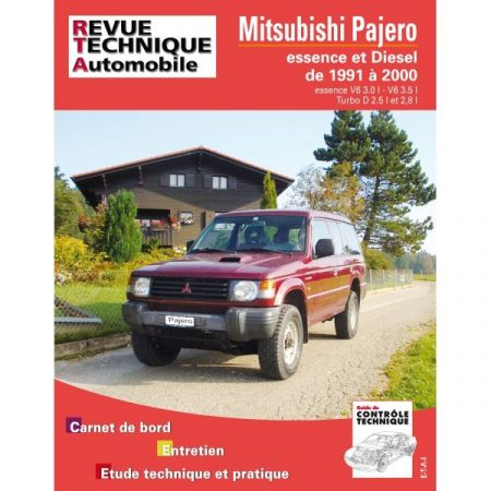 PAJERO 91-00 Revue Technique Mitsubishi
