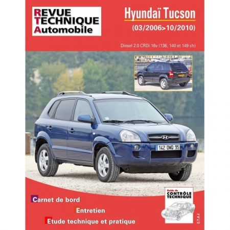 Tucson D 04-10 Revue Technique Hyundai