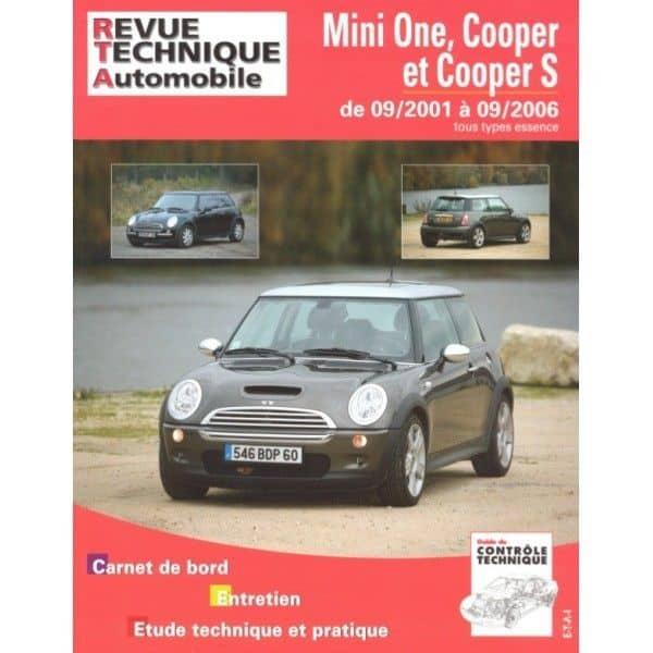 Mini One Cooper 01-06 Revue Technique Mini
