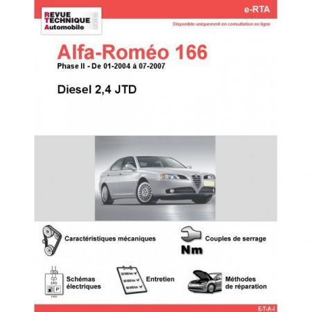166 D 04-07 Revue e-RTA Numerique Alfa Romeo