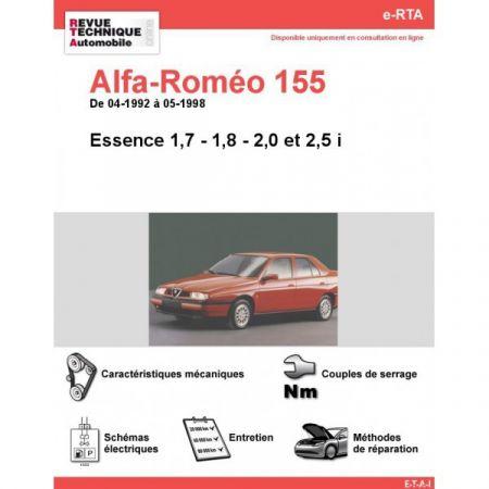155 Ess 92-98- Revue e-RTA Numerique Alfa Romeo