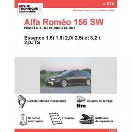 156SW E 04-07 Revue e-RTA Numerique Alfa Romeo
