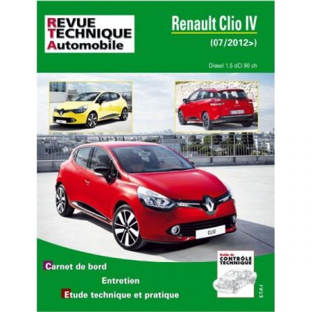 Clio IV 12- Revue Technique Renault