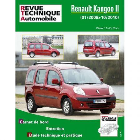 Kangoo II D 08-10 Revue Technique Renault