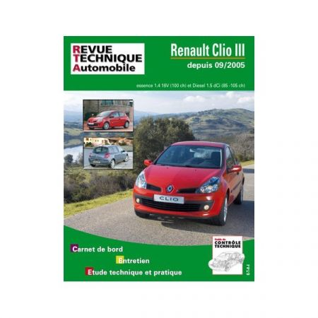 Clio III 05- Revue Technique Renault
