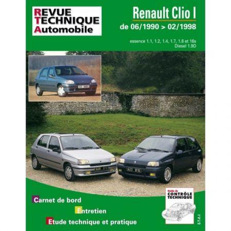 Clio I 90-98 Revue Technique Renault