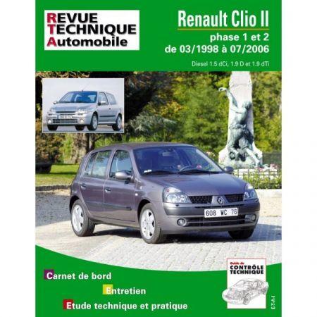 Clio II 98-06 Revue Technique Renault