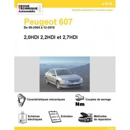 607 HDI 04-10 Revue e-RTA Numerique Peugeot