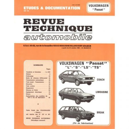 Passat Revue Technique VW