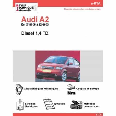 A2 D 00-05 Revue e-RTA Numerique Audi