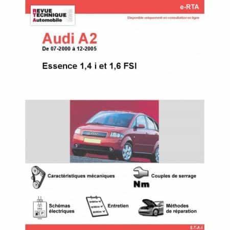 A2 E 00-05 Revue e-RTA Numerique Audi