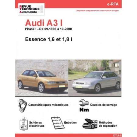 A3 E 96-00 Revue e-RTA Numerique Audi