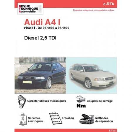 A4 D 95-99 Revue e-RTA Numerique Audi