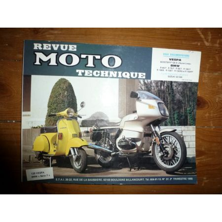 PX125 R60 à R100 Revue Technique moto Bmw Piaggio Vespa
