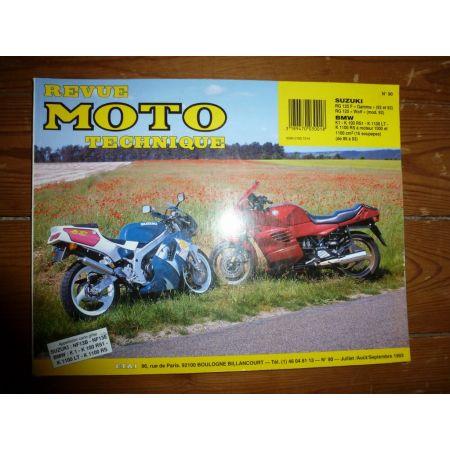 K1 K100 RG125 Revue Technique moto Bmw Suzuki