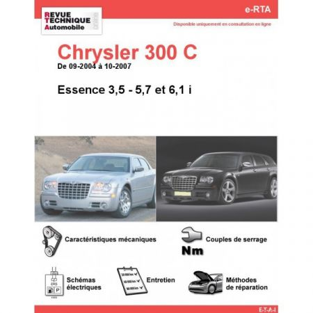 300C E 04-07 Revue e-RTA Numerique Chrysler