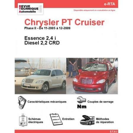 PT Cruiser 05-09 Revue e-RTA Numerique Chrysler