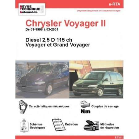 Voyager D 96-01 Revue e-RTA Numerique Chrysler