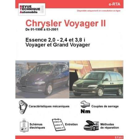 Voyager E 96-01 Revue e-RTA Numerique Chrysler