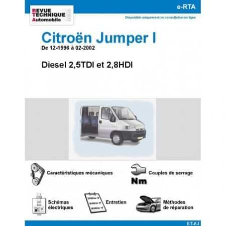 Jumper D 96-02 Revue e-RTA Numerique Citroen