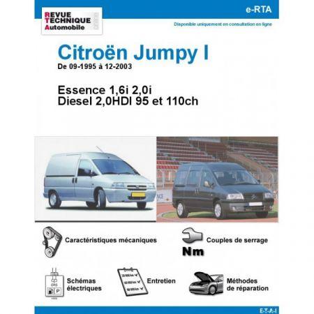 Jumpy 95-03 Revue e-RTA Numerique Citroen