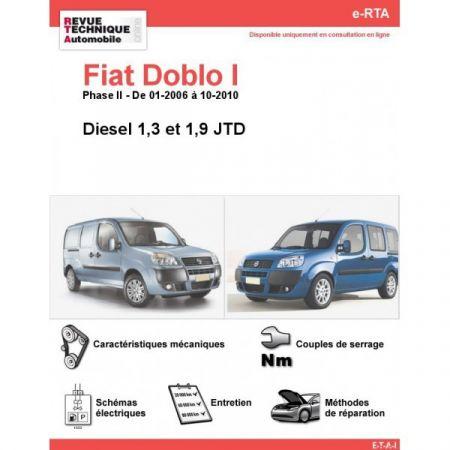 Doblo D 06-10 Revue e-RTA Numerique Fiat