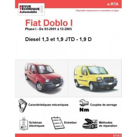Doblo D 01-05 Revue e-RTA Numerique Fiat