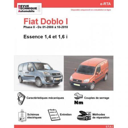 Doblo E 06-10 Revue e-RTA Numerique Fiat