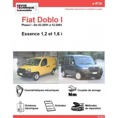 Doblo E 01-05 Revue e-RTA Numerique Fiat