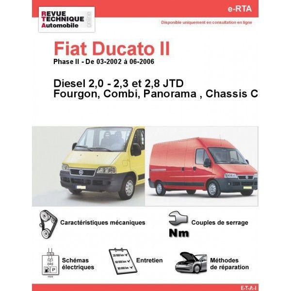 fiat ducato ii phase 2 diesel 2 0 2 3 2 8 jtd de 03 2002 a 06 2006 fourgon combi panorama. Black Bedroom Furniture Sets. Home Design Ideas