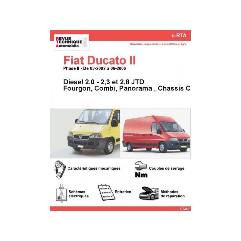 fiat ducato ii phase 2 diesel 2 0 2 3 2 8 jtd de 03 2002. Black Bedroom Furniture Sets. Home Design Ideas