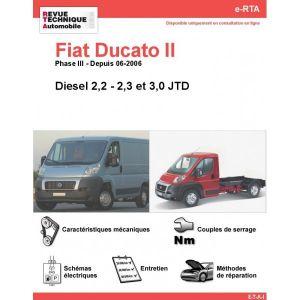 fiat ducato ii phase 3 diesel 2 2 2 3 3 0 jtd depuis 06 2006. Black Bedroom Furniture Sets. Home Design Ideas